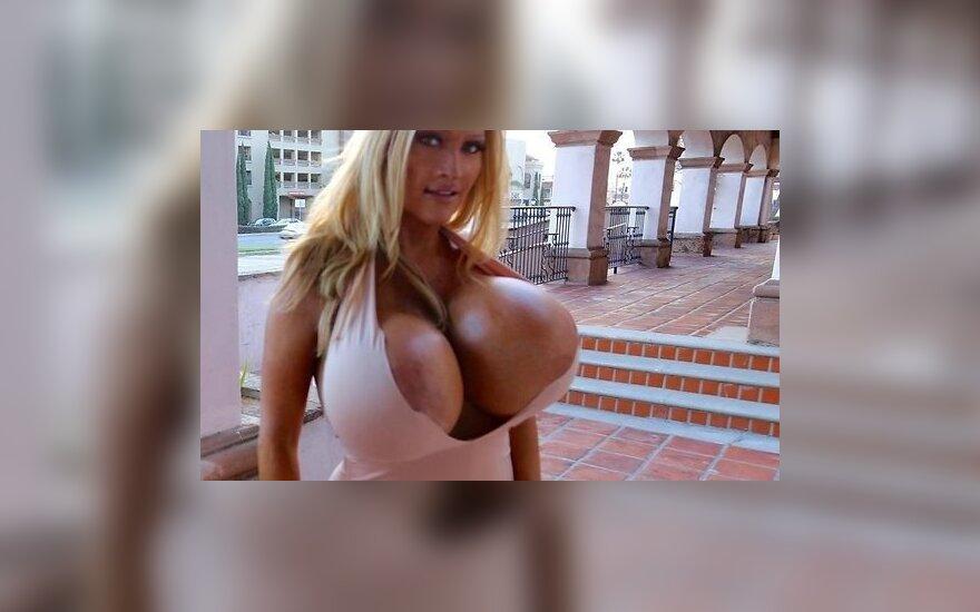 ФОТО: Модель с огромной грудью хочет сделать бюст еще больше