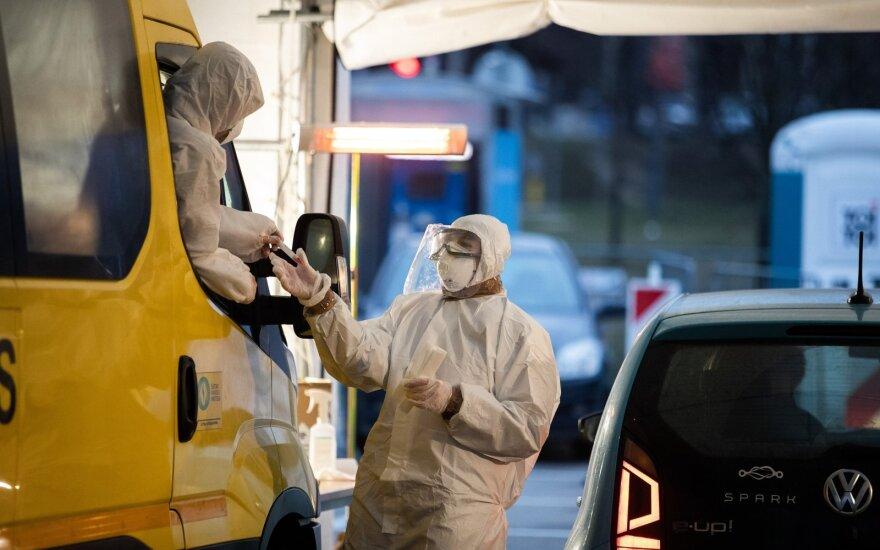 За прошедшие сутки в Литве установили 32 новых случая коронавируса