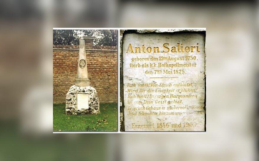 Власти Вены отказались передать останки Сальери в Италию