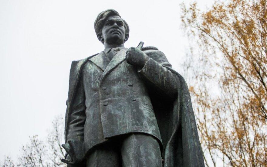 Пятрас Цвирка: в центре Вильнюса стоит памятник не писателю