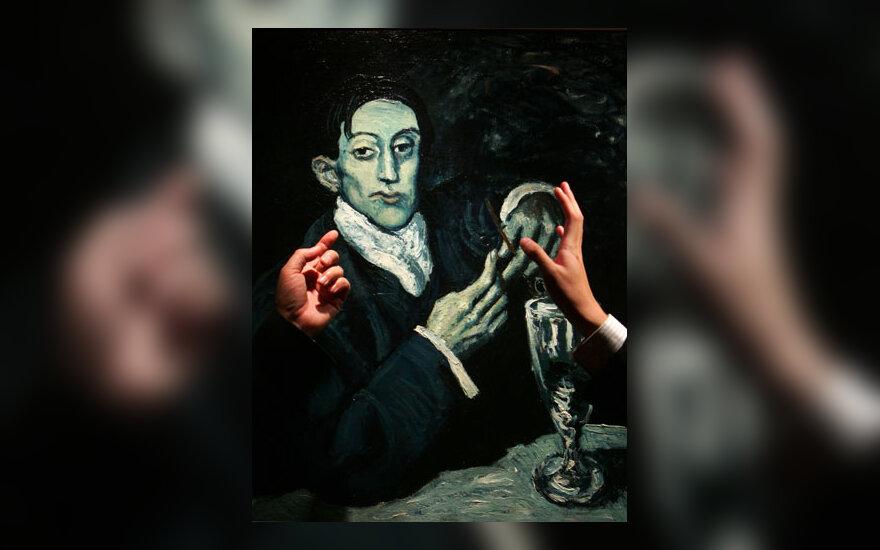 "Pablo Picasso paveikslas ""Angel Fernandez de Soto"""
