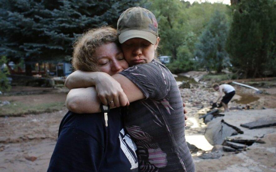 В Колорадо из-за наводнений пропали 172 человека