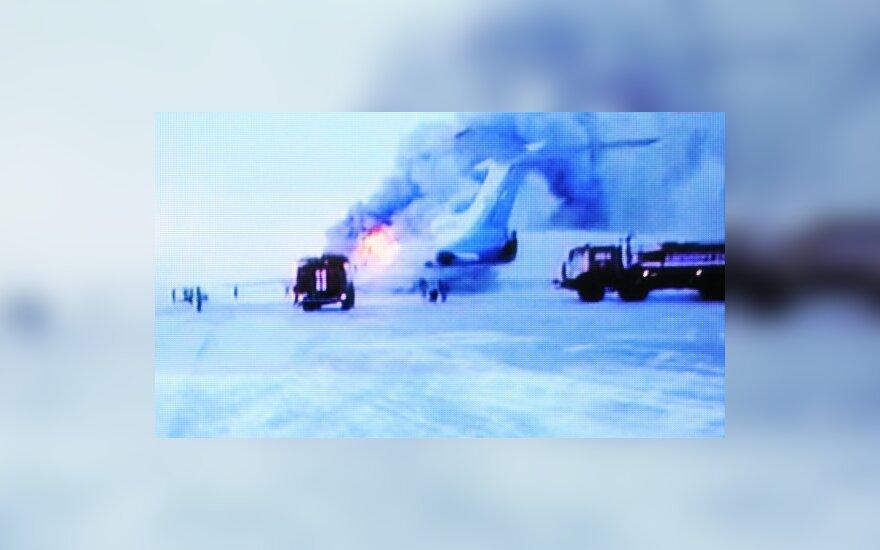 """Найдены """"черные ящики"""" сгоревшего Ту-154"""