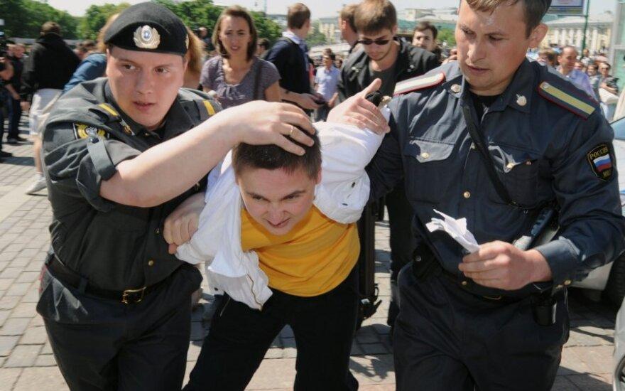 Gėjų protesto akcija Maskvoje