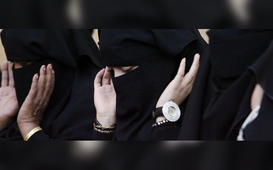 Moterys Saudo Arabijoje