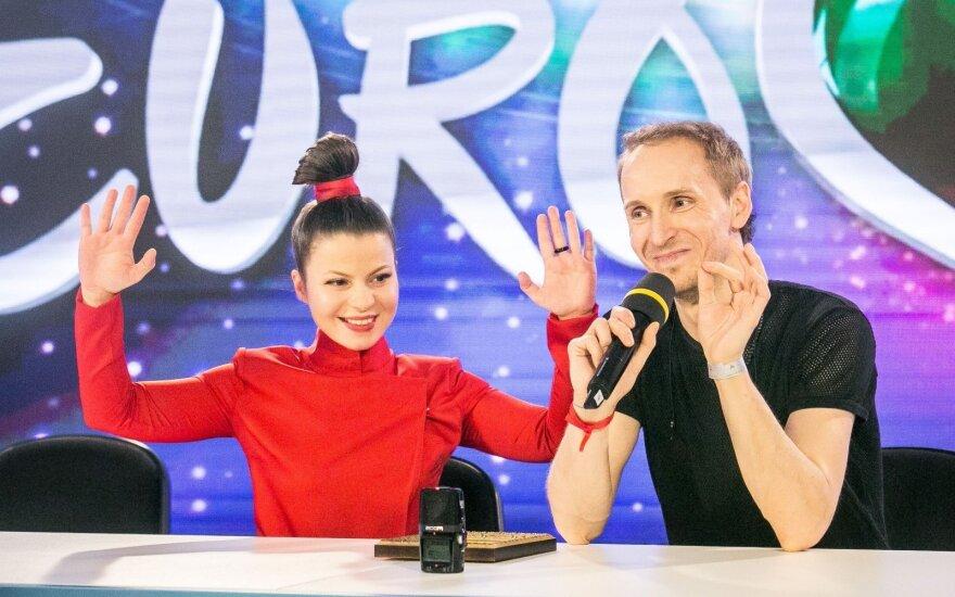 Viktorija Ivanovskaja ir Denisas Zujevas
