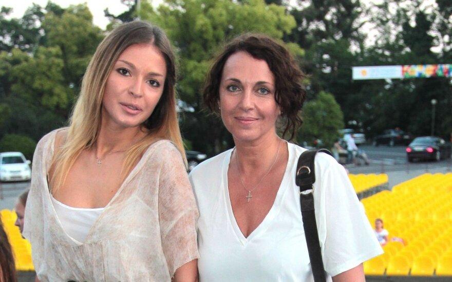 Татьяна Лютаева: в Вильнюсе останавливаюсь у бывшего мужа