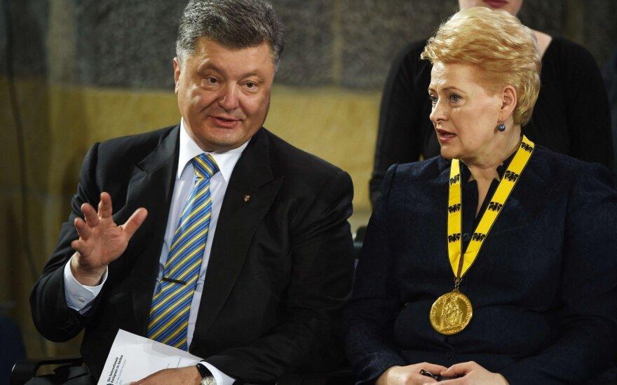 Petro Porošenka ir Dalia Grybauskaitė