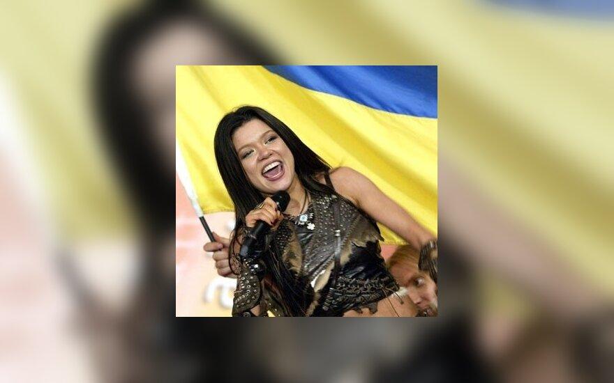 Eurovizijos nugalėtoja ukrainietė Ruslana