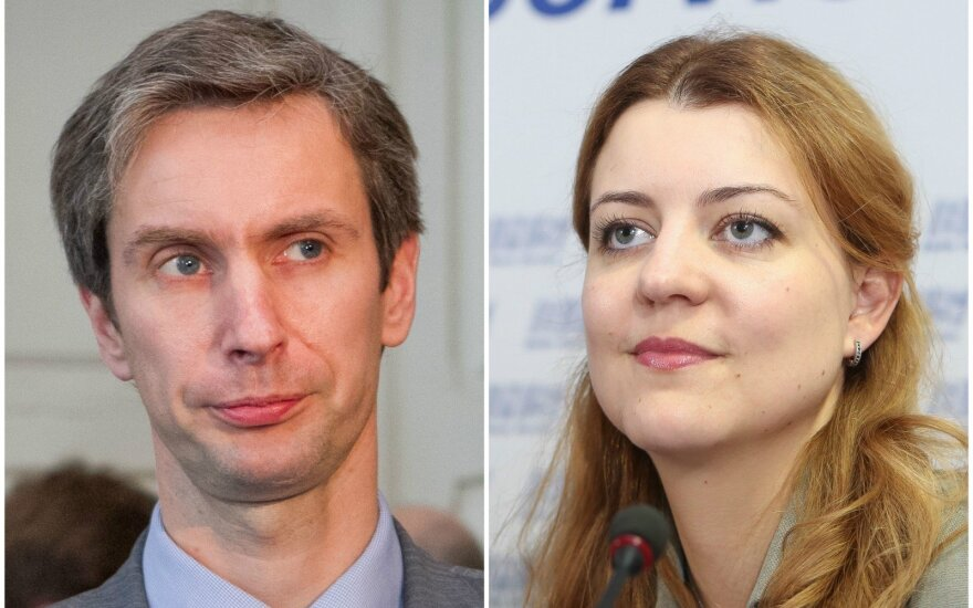 Algirdas Paleckis, Monika Navickienė
