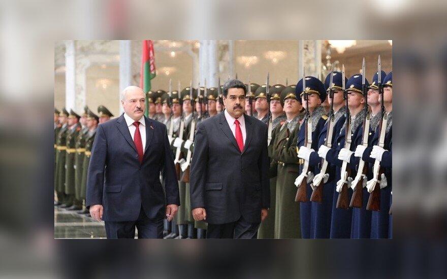 В Минск прибыл лидер Венесуэлы: Лукашенко и Мадуро заверили друг друга в дружбе