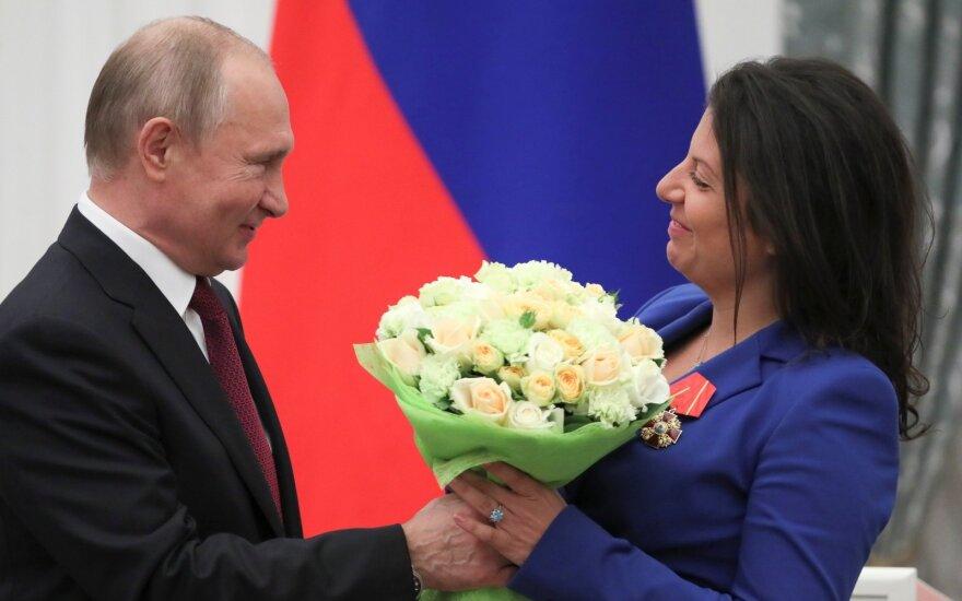 Vladimiras Putinas, Margarita Simonian