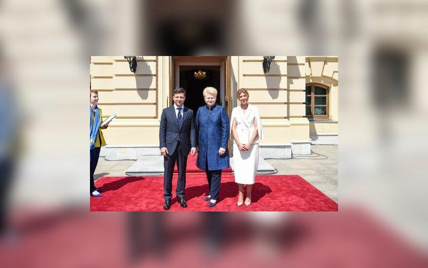 """На встрече Зеленским президент Литвы призвала """"раздавить"""" олигархическую систему"""