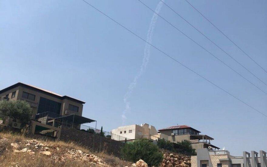"""Израильские военные сбили сирийский самолет """"Су"""""""