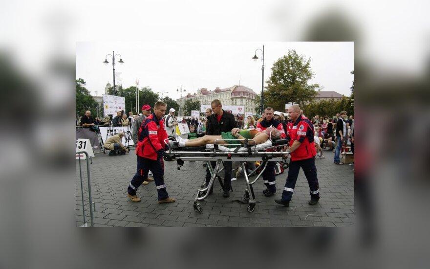 Vilniaus maratone - bėgiko mirtis