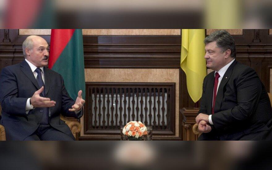 Aleksandras Lukašenka ir Petro Porošenka