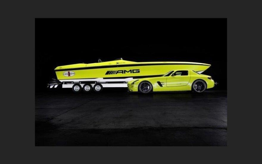 """Mercedes-Benz построила самую быструю в мире """"электро-сигарету"""""""