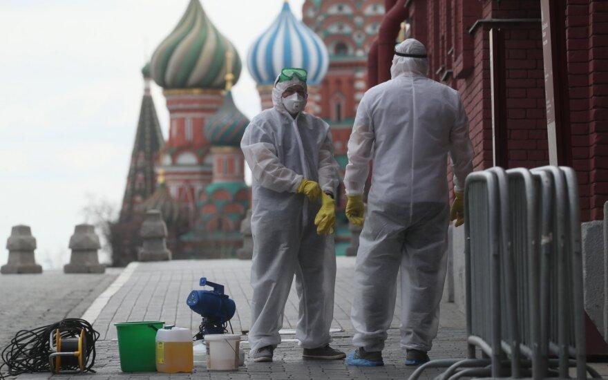 За сутки в России выявлено 5849 новых зараженных коронавирусом