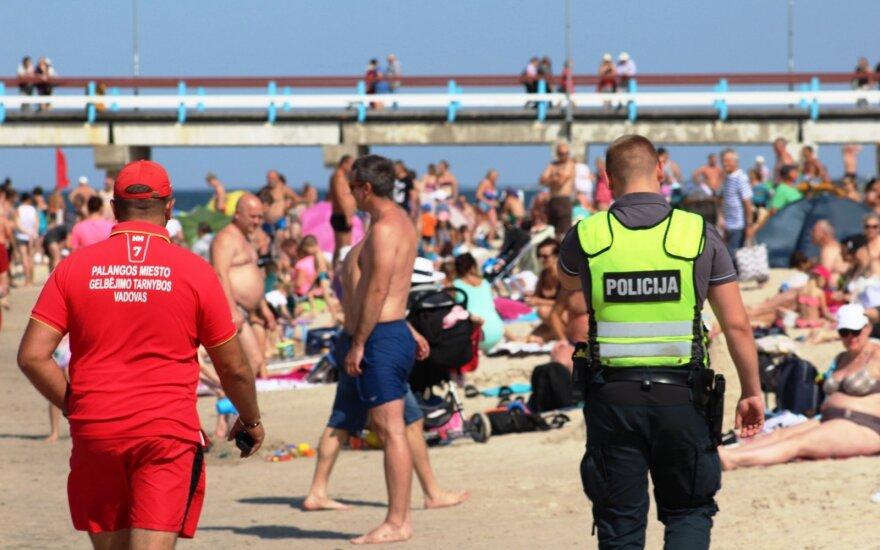 Недисциплинированный отдыхающий в Паланге получил штраф в размере 300 евро