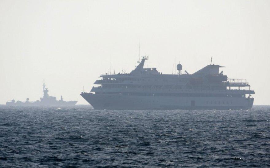 Izraelio ataka prieš humanitarinę pagalbą palestiniečiams į Gazos Ruožą gabenusius laivus