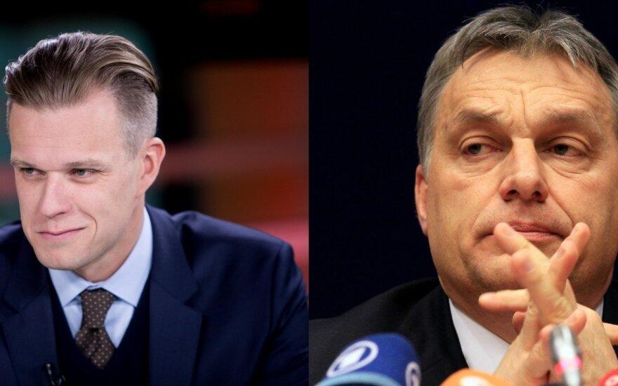 Орбан просит Ландсбергиса оставить Fidesz в организации правых ЕС