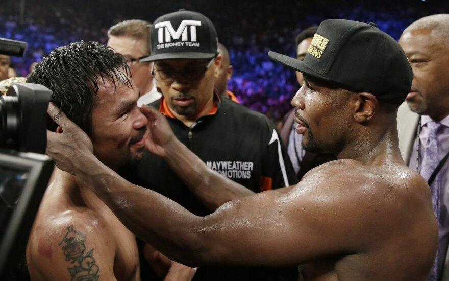 Floydio Mayweatherio ir Manny Pacquiao dvikova