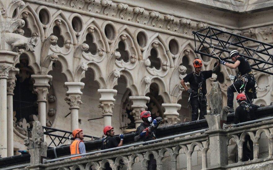 На восстановление собора Парижской Богоматери жители Литвы пожертвовали более 850 евро