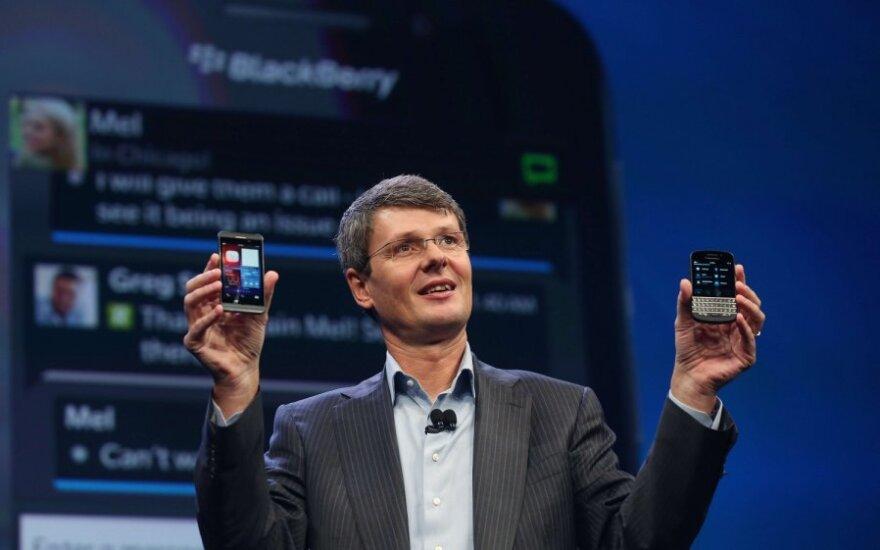 """BlackBerry 10"" pristatymas"