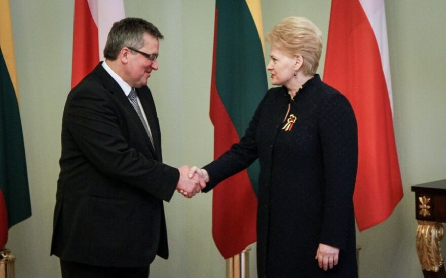 Komorowski zaprosił Grybauskaitė do Polski