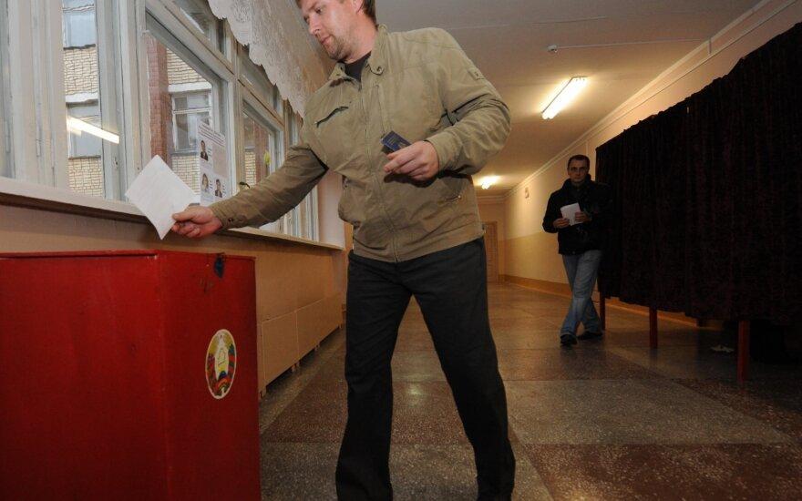 Rinkimų apylinkė Baltarusijoje, K.Avimovos nuotr.