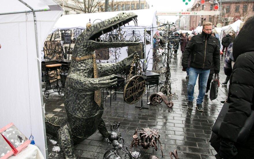 В Вильнюсе началась традиционная ярмарка Казюкаса