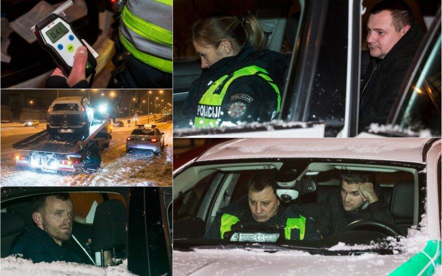 """Ночь в заснеженном Вильнюсе: управлявшему CityBee """"иностранцу"""" пришлось объяснять, что здесь не Англия"""