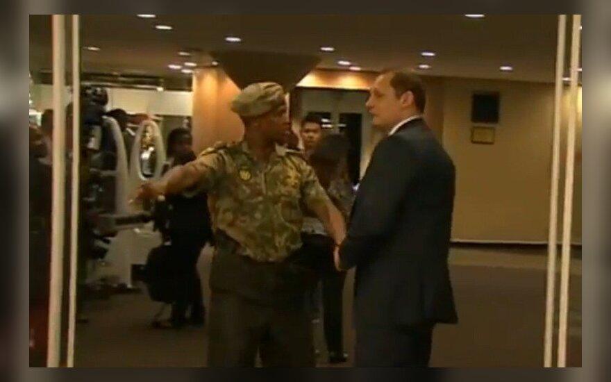 Между охраной Путина и стражами порядка ЮАР завязалась потасовка