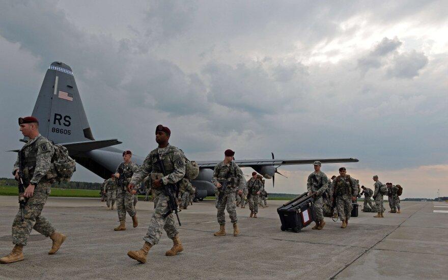 США проведут учебную переброску войск через ФРГ в Восточную Европу