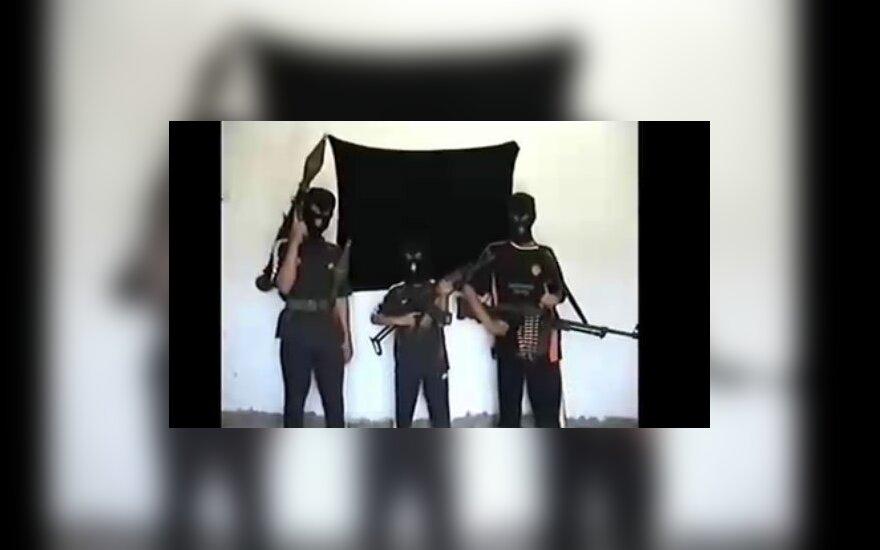 Vaikai ruošiami būti teroristais