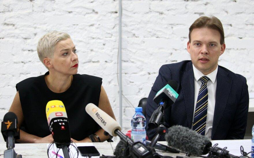 Maryja Kalesnikava, Maksimas Znakas