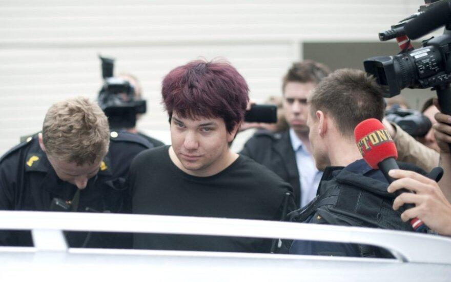 Norvegijoje sulaikytas peiliu ginkluotas jaunuolis