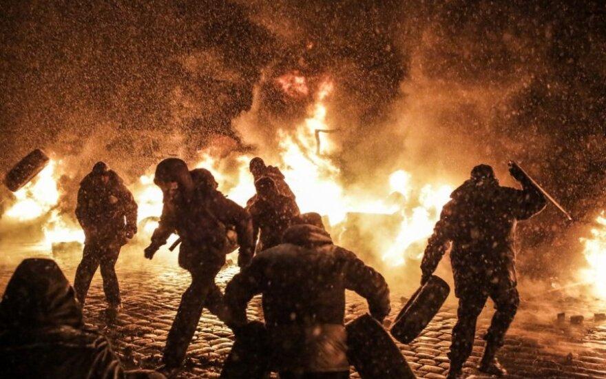 Суд арестовал предполагаемых участников беспорядков в Киеве