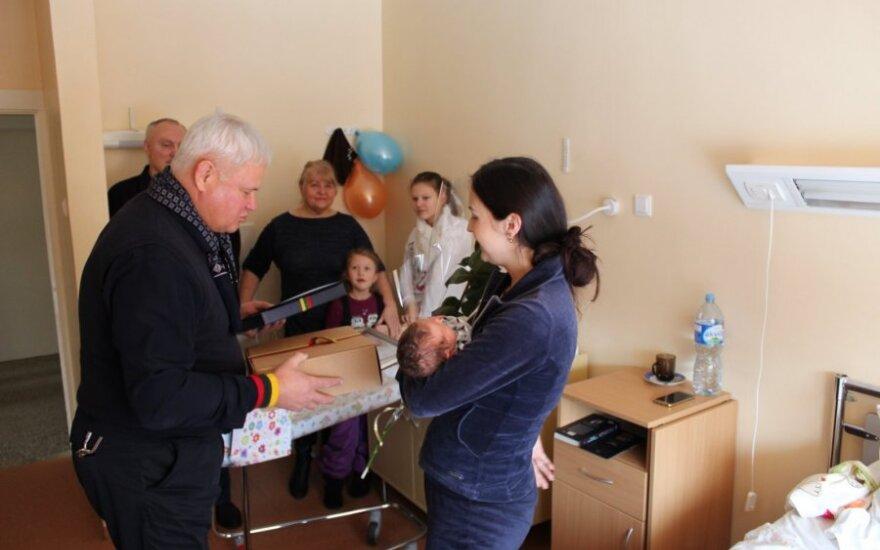 16 февраля в Клайпеде появились на свет 9 малышей