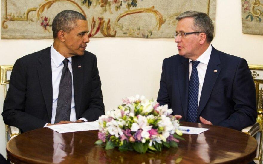 Barack Obama w Polsce po polsku: Dzień dobry