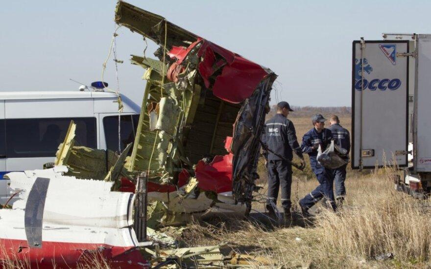 """Обнаружены останки тел погибших в крушении """"Боинга"""" MH17"""