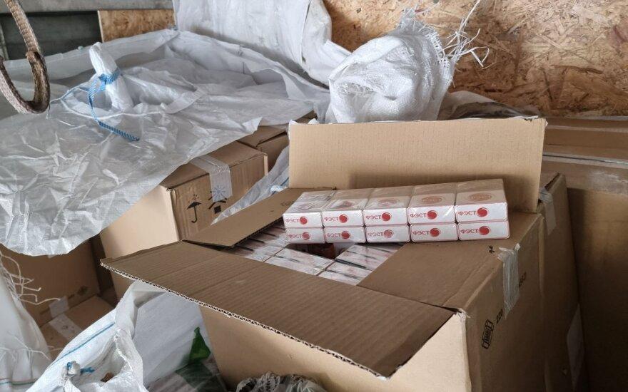 3 млн евро: на границе Литвы задержан один из крупнейших грузов контрабанды из Беларуси