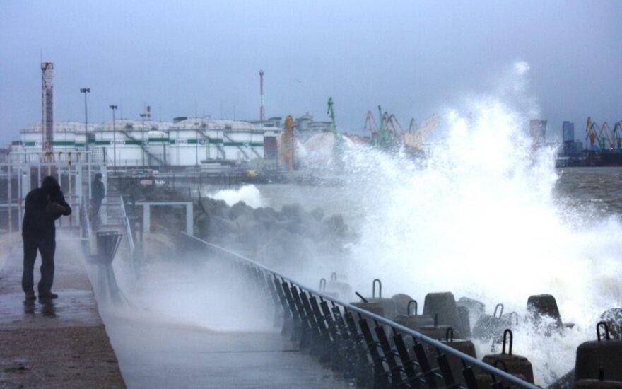 Uraganas Ksaveras Lietuvoje (M. Milinio nuotr.)