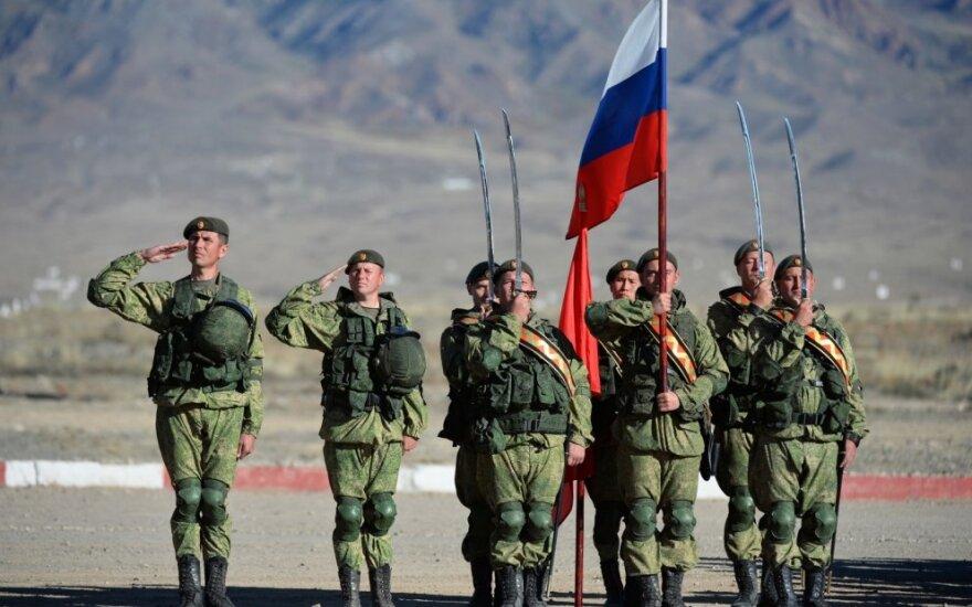 Rusų kariai Kirgizijoje