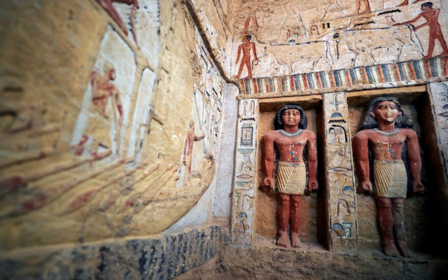 В Египте нашли нетронутую гробницу высокопоставленного жреца. Ее возраст – 4400 лет
