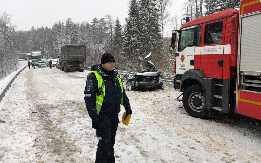 Жуткое ДТП в Вильнюсском районе: погибли две молодые женщины
