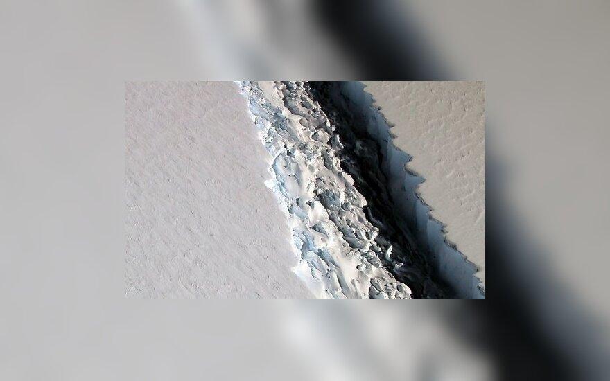 В Антарктиде быстрыми темпами растет гигантская трещина