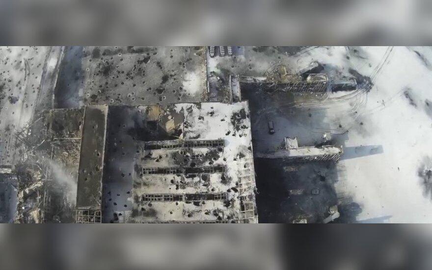 В донецком аэропорту началась операция украинских силовиков