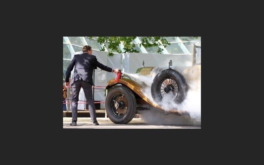 На аукционе сгорел редкий Bentley 1929 года выпуска