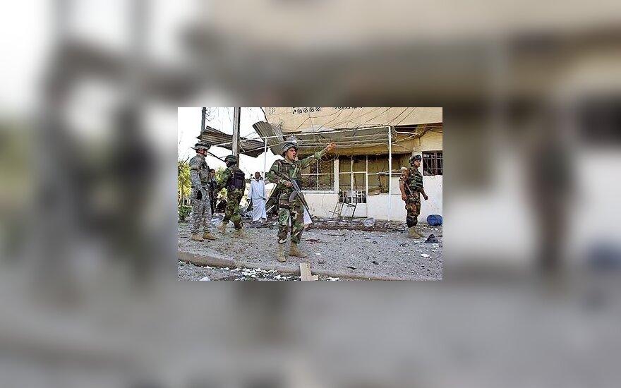 Po sprogimo Irako Kirkuko mieste